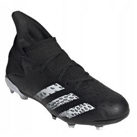 Adidas Predator Freak.3 Fg Junior FY1031 fodboldstøvler sort sort 3