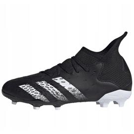 Adidas Predator Freak.3 Fg Junior FY1031 fodboldstøvler sort sort 2