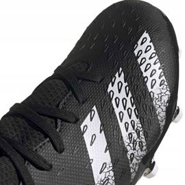 Adidas Predator Freak.3 Fg Junior FY1031 fodboldstøvler sort sort 9
