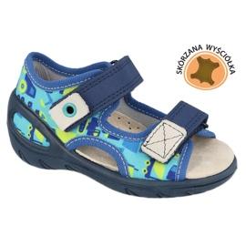 Befado børnesko pu 065X156 marine blå blå grøn 1