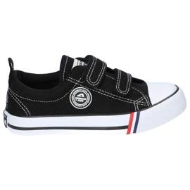 American Club Sort amerikansk LH33 / 21 velcro sneakers 2