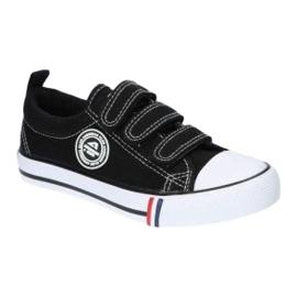 American Club Sort amerikansk LH33 / 21 velcro sneakers 4