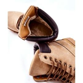 PH1 Kvinders Beige Crush varme støvler brun 9