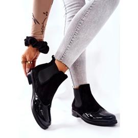 Læderstøvler Laura Messi Sort 2096 2