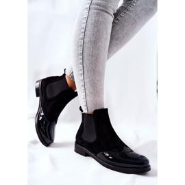 Læderstøvler Laura Messi Sort 2096 3