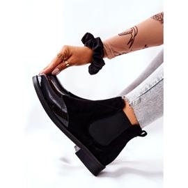 Læderstøvler Laura Messi Sort 2096 6