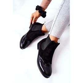 Læderstøvler Laura Messi Sort 2096 7
