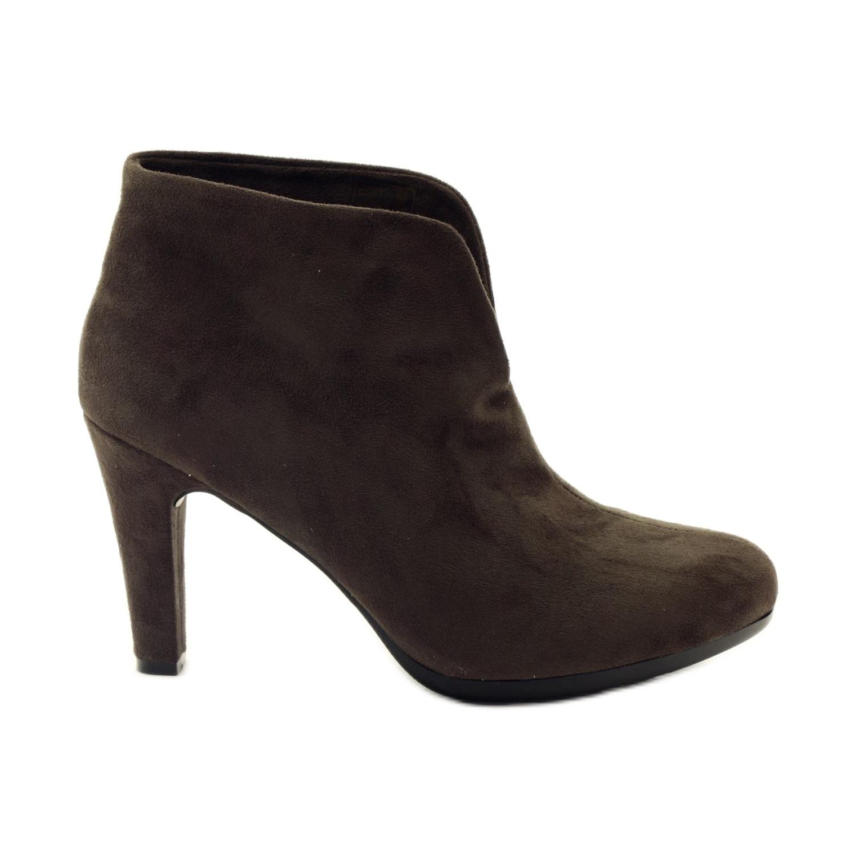 Brune kvinders sko Hengst 214702